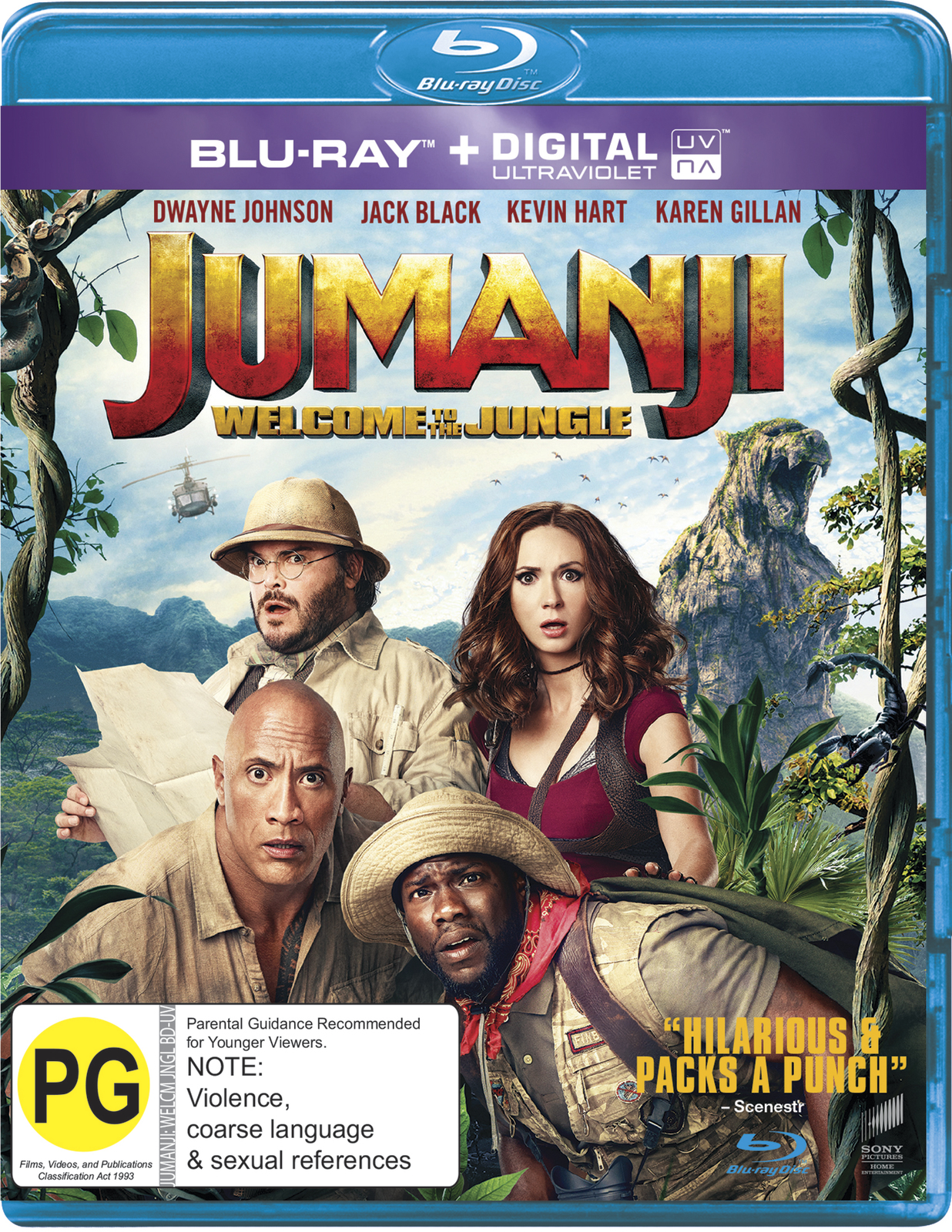 Jumanji: Welcome to the Jungle on Blu-ray image