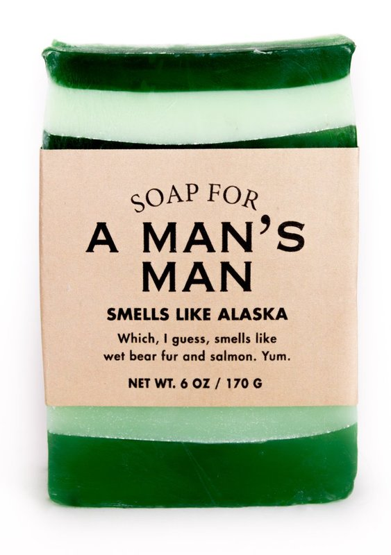 Whiskey River Co: Soap - For Man's Man