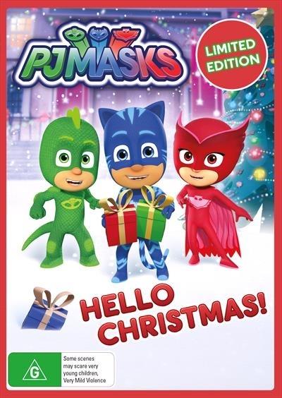PJ Masks: Hello Christmas on DVD