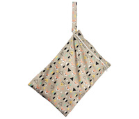 Mum 2 Mum: Wet Bag - Foxes / Black (2 Pack) image