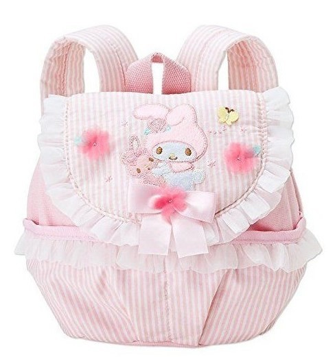 My Melody Applique & Lace Floral Petite Backpack