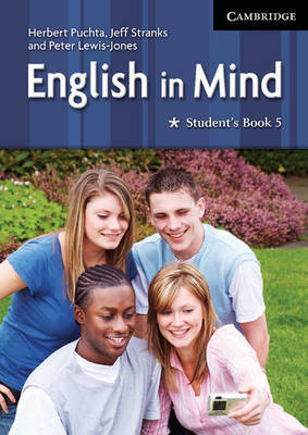 English in Mind Level 5 Student's Book: Level 5 by Herbert Puchta image