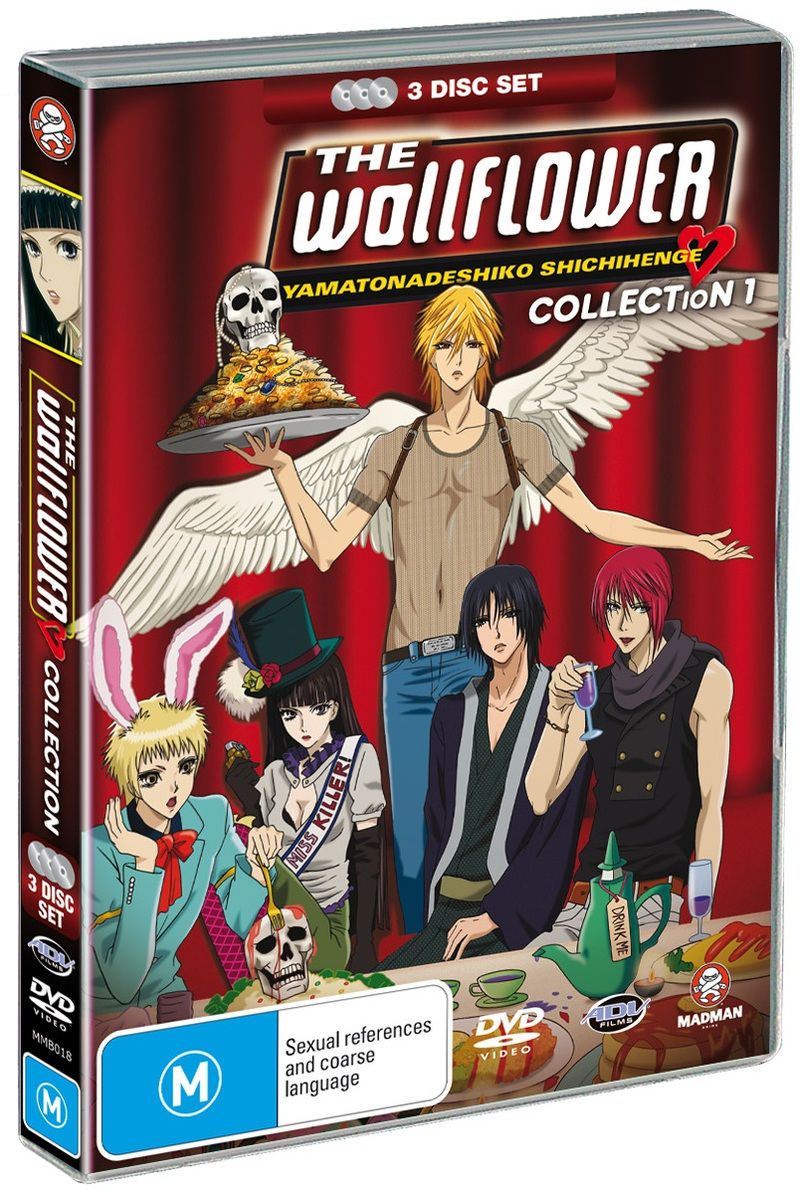 Wallflower, The - Collection 1: Episodes 1-13 (3 Disc Set) on DVD image