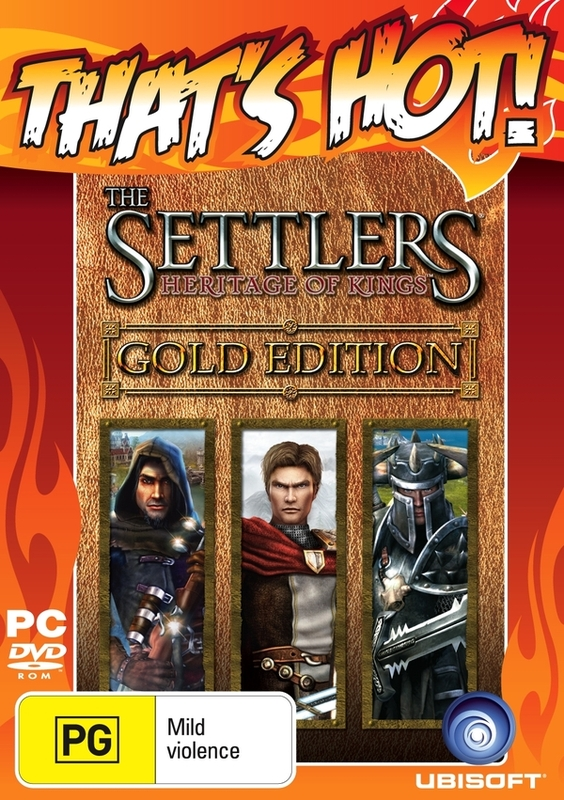 The Settlers V: Heritage of Kings Gold Edition for PC