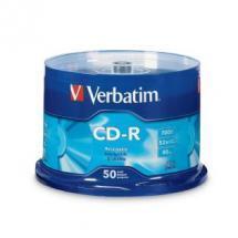 Verbatim CD-R 700MB 50Pk Spindle 52x