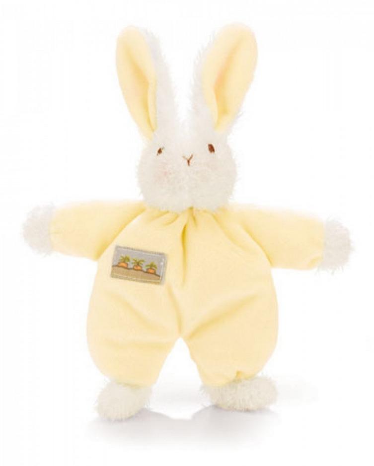 Sweet Hops Bunny Rattle - Yellow image