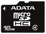 16GB ADATA - MicroSDHC Card (Class 4)