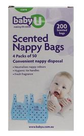 Baby U Nappy Bags (200 Bags)