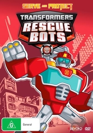 Transformers Rescue Bots: Serve and Protect DVD