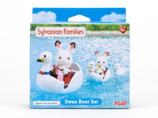Sylvanian Families: Swan Boat Set image
