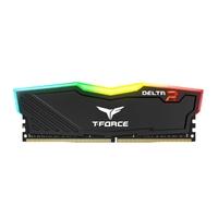 2 x 4GB Team T-Force Delta II DDR4 2400MHz RGB Gaming RAM - Black
