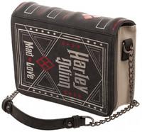 Harley Quinn Storybook Clutch Bag