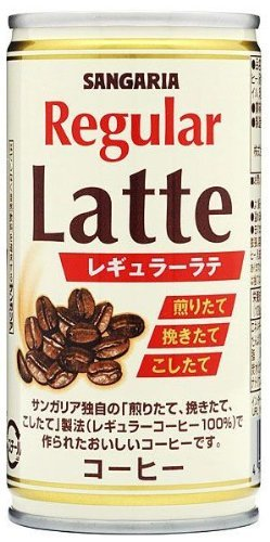 Sangaria Regular Latte 190ml image