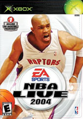 NBA Live 2004 for Xbox