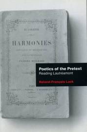Poetics Of The Pretext by Roland-Francois Lack image