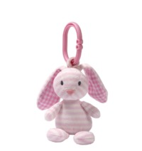 Gund: Stripes & Dots - Brynlee Bunny Rattle