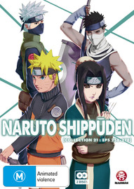 Naruto Shippuden Collection 21 on DVD