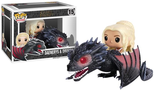 Game of Thrones - Drogon & Danaerys Pop! Rides Set