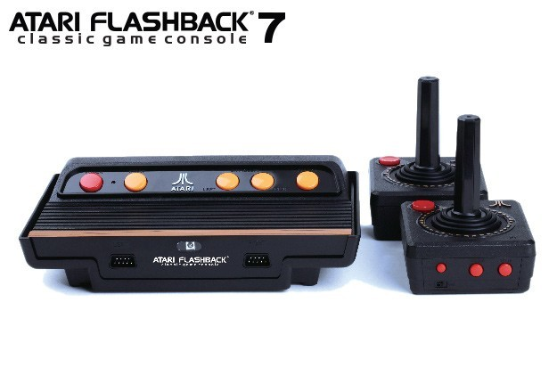 Atari flashback 7 classic game console pre order now - Atari flashback 3 classic game console ...
