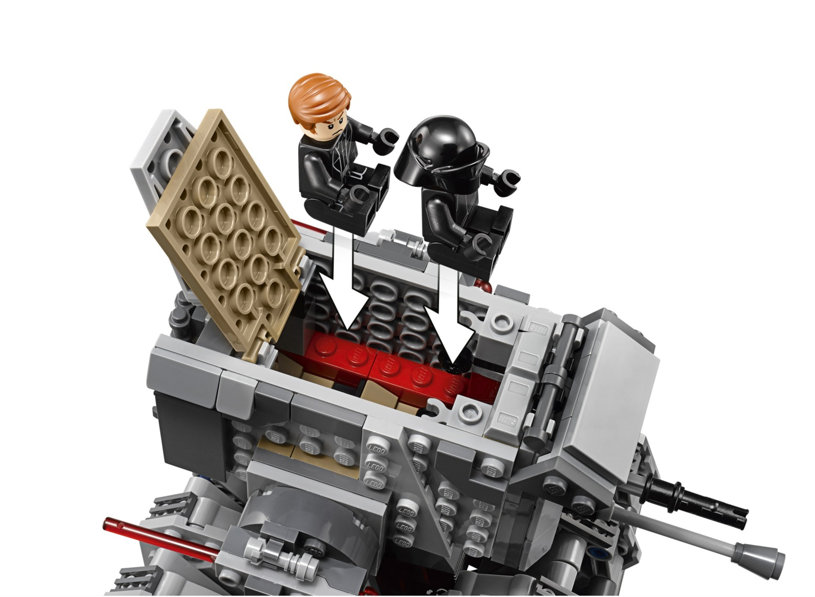 LEGO Star Wars - First Order Heavy Scout Walker (75177) image