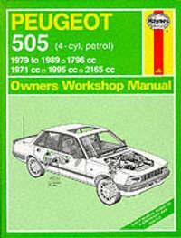 Peugeot 505 (Petrol) 1979-89 Owner's Workshop Manual by A.K. Legg image
