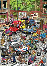 Van Haasteren: Scooter Scramble - 1000 Piece Puzzle