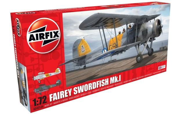 Airfix 1:72 Fairey Swordfish Mk.1 - Model Kit
