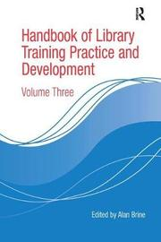 Handbook of Library Training Practice and Development image
