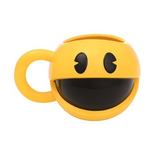 Pac-Man: 16 oz. Sculpted Ceramic Mug