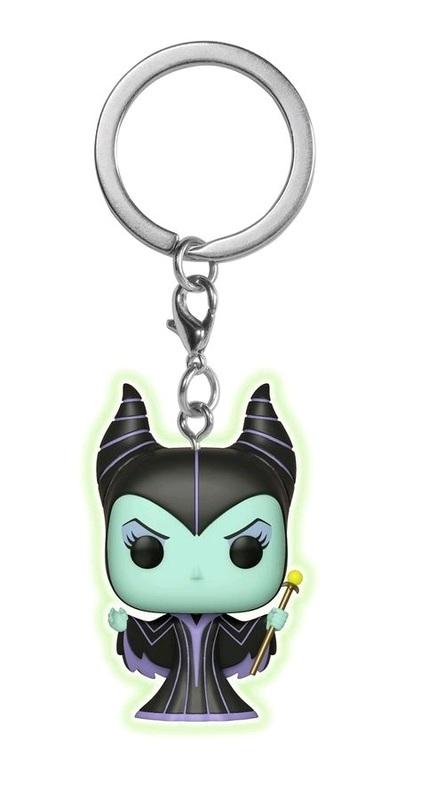 Disney - Maleficent Glow Pocket Pop! Keychain