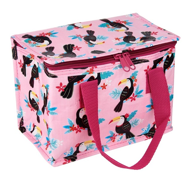 Sass & Belle: Tiki Toucan - Lunch Bag