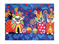 Maxwell & Williams: Love Hearts Tea Towel - Cup Cakes image