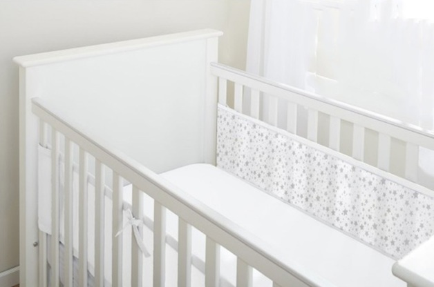 BreathableBaby: Breathable Mesh Cot Liner - 2 Sides (Twinkle Twinkle)