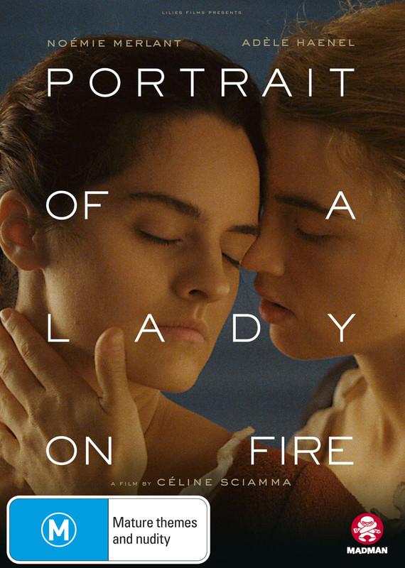 Portrait Of A Lady On Fire on DVD