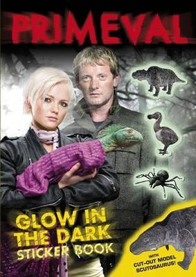"""Primeval"" Glow in the Dark Sticker Book"