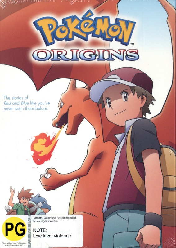 Pokemon: Origins on DVD