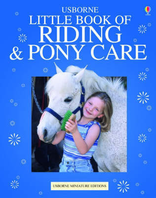 The Usborne Complete Book of Riding and Pony Care image