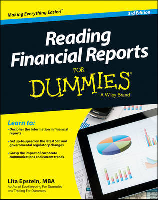 Reading Financial Reports For Dummies by Lita Epstein image