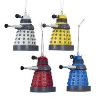 Doctor Who: Dalek Christmas Ornaments - 4 Pack