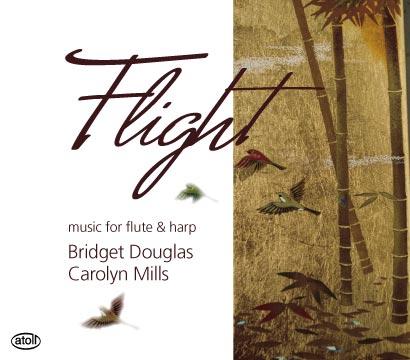 Flight: Music For Flute & Harp by Bridget Douglas & Carolyn Mills image