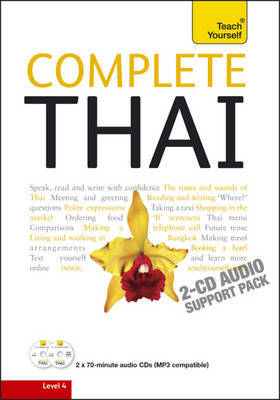 Teach Yourself Complete Thai: Audio Support by David Smyth image