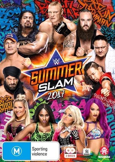WWE: Summerslam 2017 on DVD image