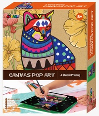 Avenir: Canvas Pop Art Kit - Cat