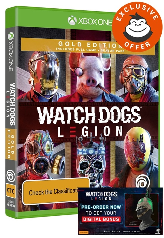 Watch Dogs Legion Gold Edition for Xbox One