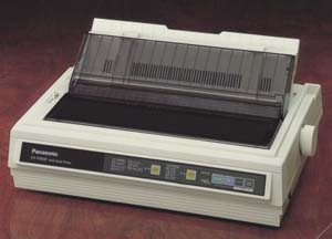 Panasonic KX-P3696 Wide Carriage Dual 9-Pin Dot Matrix Printer image