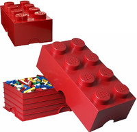 LEGO: Storage Brick 8 - Red