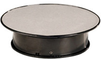 Rotating Display Turntable for Models (200mm Silver)