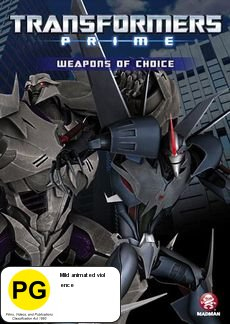 Transformers Prime: Weapons of Choice on DVD image