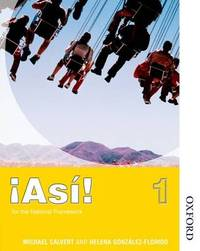 !Asi! 1 Students' Book by Mike Calvert image