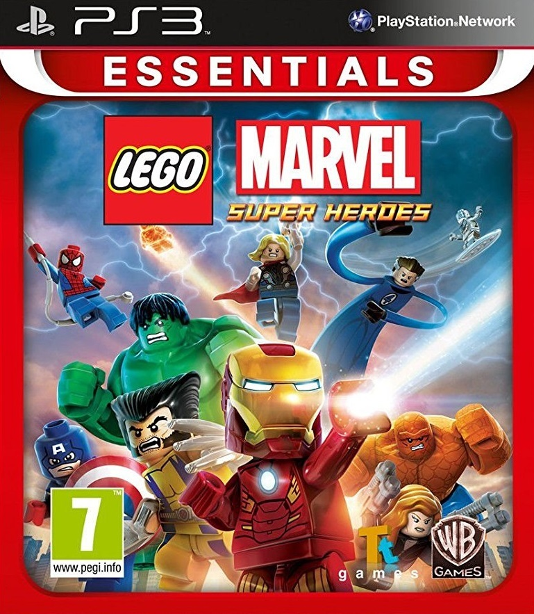 LEGO Marvel Super Heroes (PS3 Essentials) for PS3 image